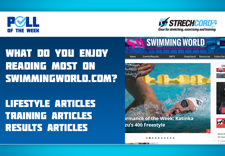 Swim Poll Of The Week What Do You Enjoy Reading Most On SwimmingWorldcom