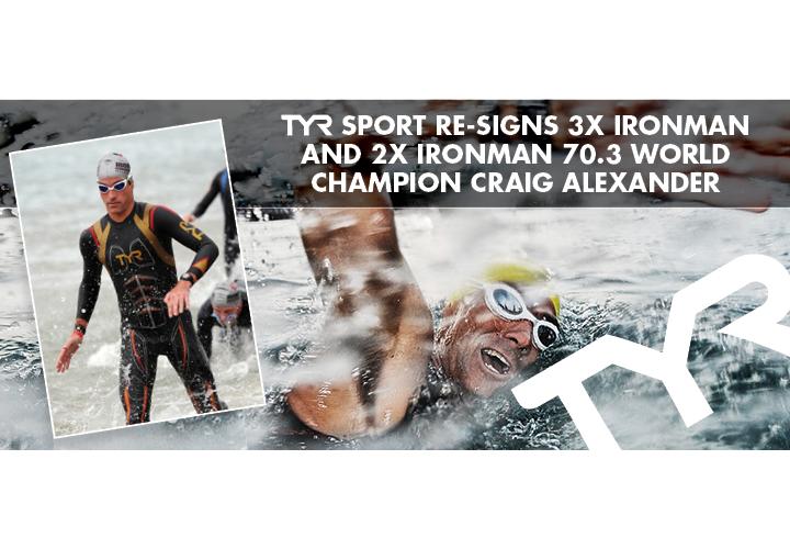 TYR Sport ReSigns 3X Ironman and 2X Ironman 703 World Champion Craig Alexander