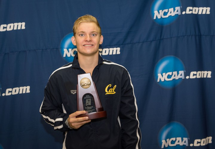 VIDEO INTERVIEW Andrew Seliskar Begins NCAA Career with Two Finals Swims