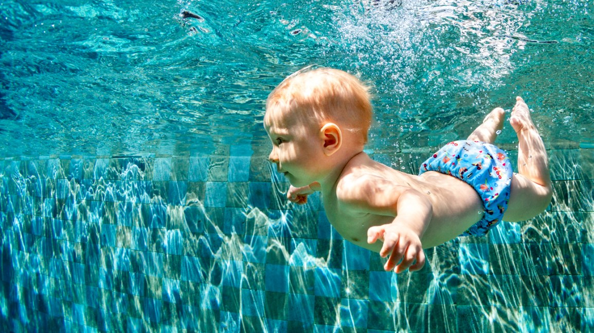 Infant swim lessons in Ajman