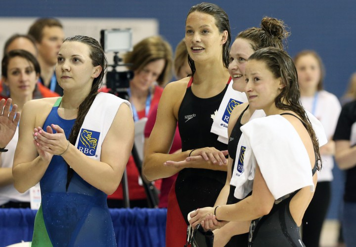 Swimming Canada Olympic Trials Womens 200 Free 5 Stories
