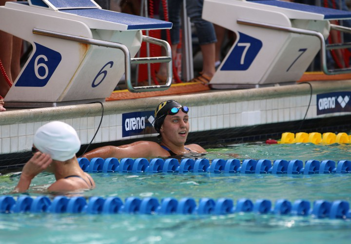Lauren Case Takes Gold In Three Events On Day 3 Of Nashville Sectionals