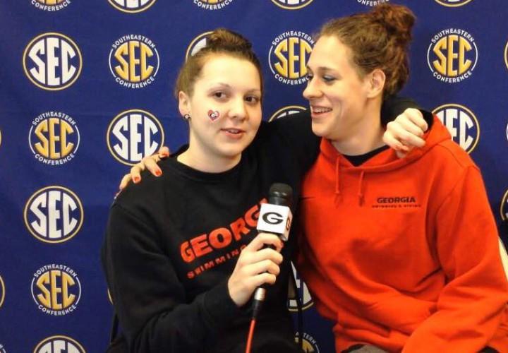 Brittany MacLean Caeleb Dressel Shine on Day Three of SECs