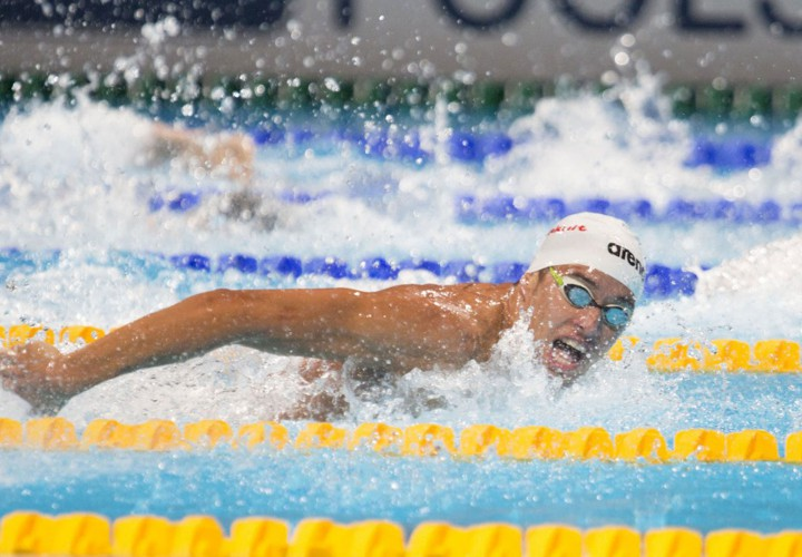 Swimming World Performance Of The Week Chad le Clos 100 Butterfly