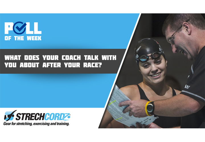 Poll Of The Week What Does Your Coach Talk About After Your Race