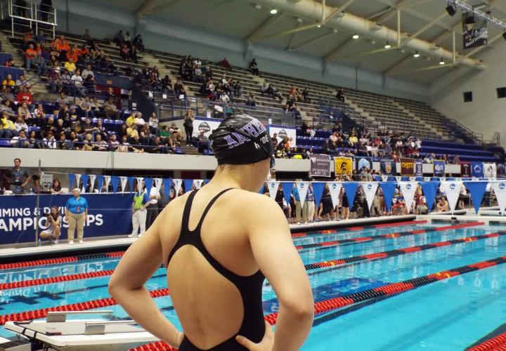 Emily Hyde Clocks NCAA A Cut in NESCAC Prelim Action