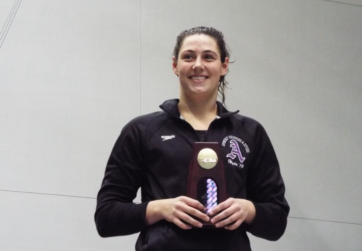 Emily Hyde Shines in 200 IM on Night One of NESCACs
