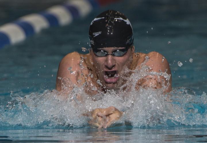 Olympic Gold Medalist Brendan Hansen Blasts 50Yard Breast Swim at Masters Club Meet