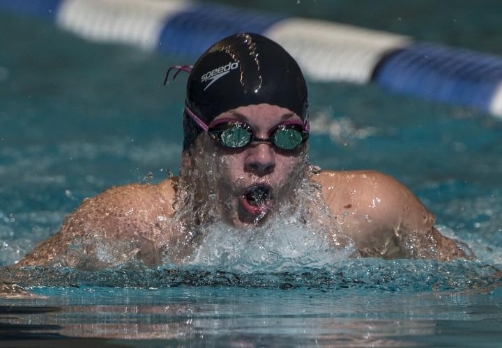 Swimming World Performance of the Week Lindsey Horejsis 100 Breaststroke