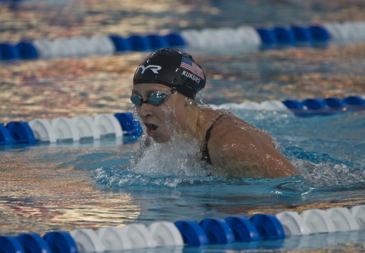 Trials Throwback Womens 200 IM in 2012