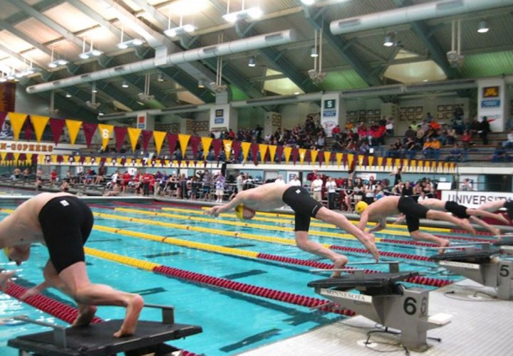 St Thomas breaks 400 Medley Meet Record on first day of MIAC