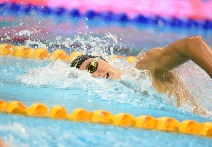 Cameron McEvoy Cate Campbell Top Sprint Frees During Prelims