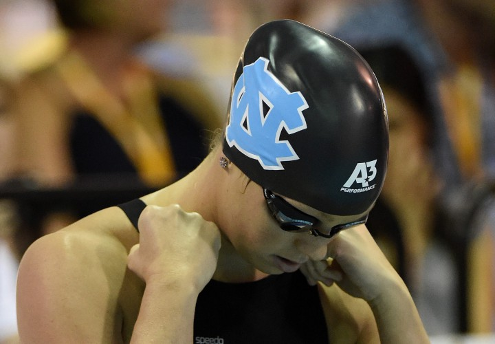 Hellen Moffitt Wins Three As North Carolina Sweeps Duke
