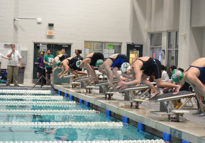 Michalak Breaks Another NSICSC Record In Womens 100 Butterfly