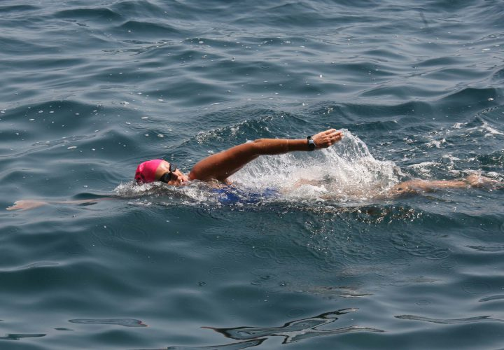 How Anne Cleveland Uses Marathon Swimming to Fundraise Coach and Promote Health
