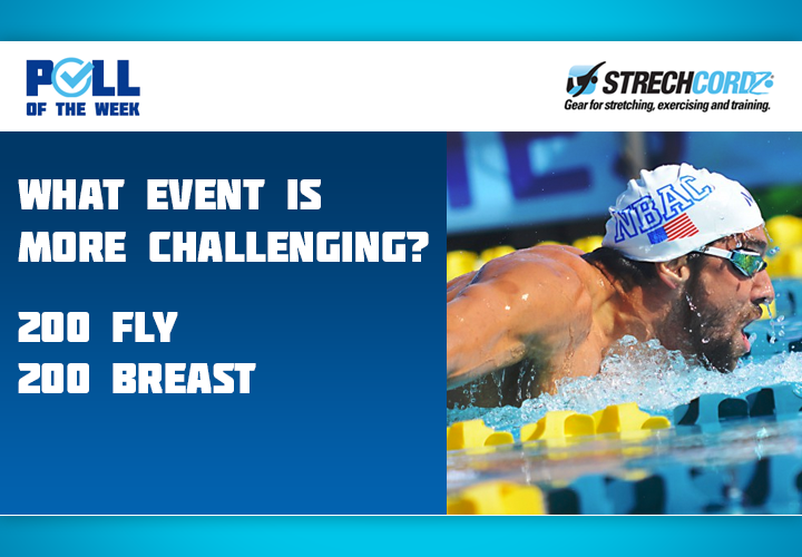 Swim Poll Of The Week What Event Is More Challenging