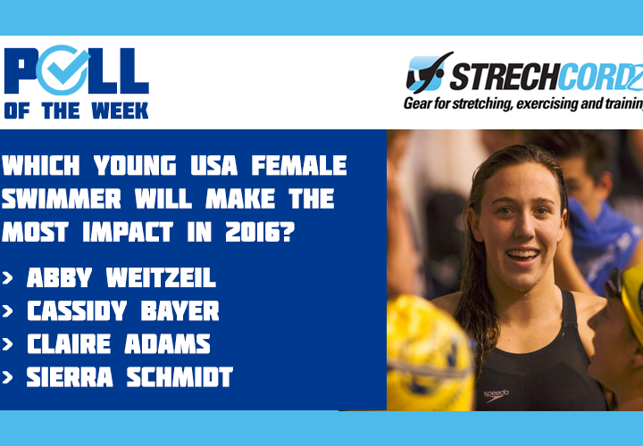 Poll Of The Week Which Young USA Female Swimmer Will Make The Most Impact in 2016