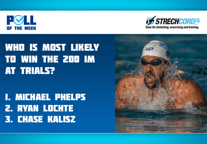 Swim Poll Of The Week Out Of These Three Swimmers Who Is Most Likely To Win The 200M IM At Trials