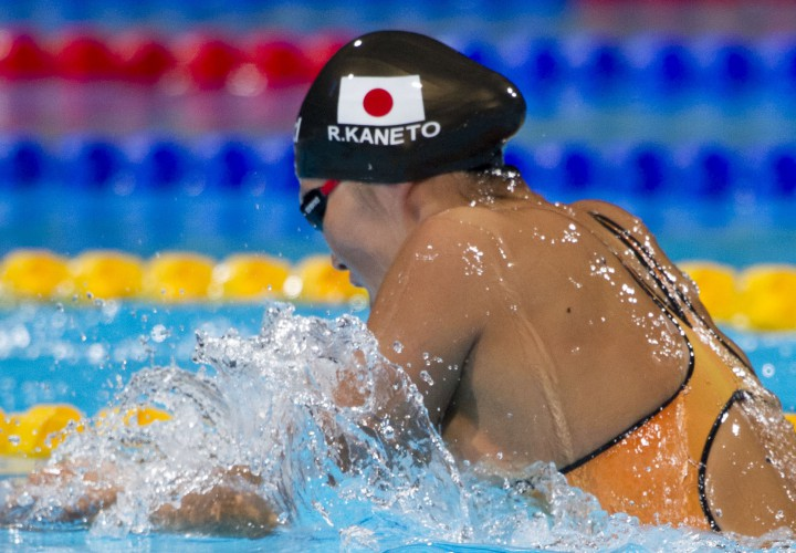 Rie Kaneto Leads Strong Breaststroke Contingent At Doha World Cup Prelims