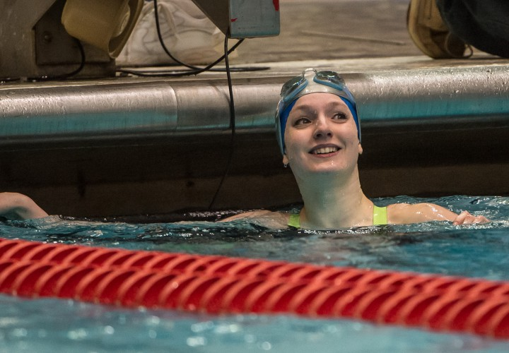 Claire Adams Veronica Burchill Set State Records Set Up Carmel For History