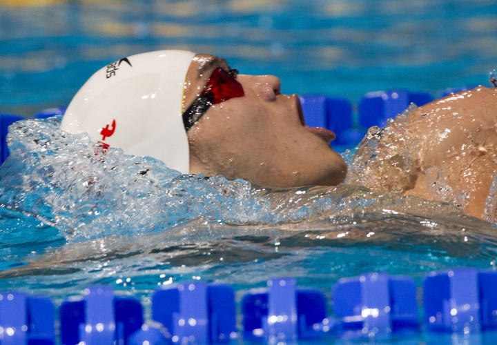 Xu Jiayu Leads Backstroke Events At Day Two Of The Beijing World Cup