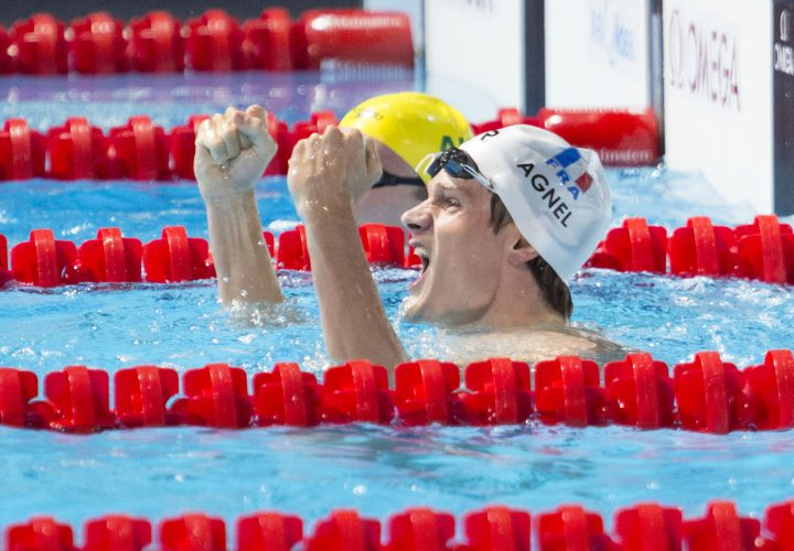 Yannick Agnel Will Defend Olympic Gold in 200 Freestyle