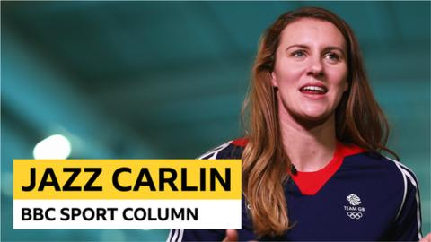 Jazz Carlin column Pneumonia throwing elbows and 10k training sets