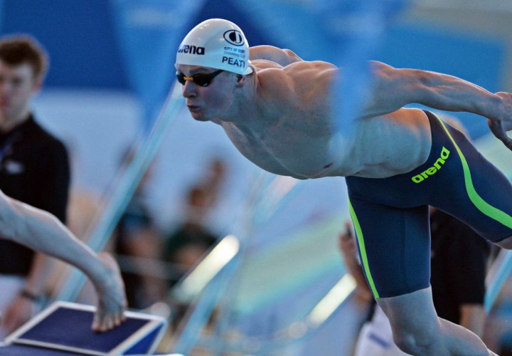 Adam Peaty Surges To Top Of World Rankings In 100 Breaststroke