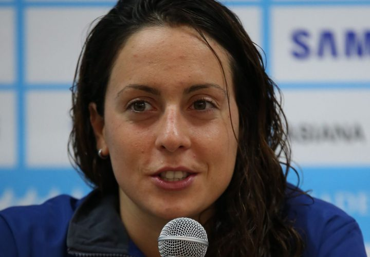 Alessia Polieri Grabs Top Time in 200 Fly Semis at Euros
