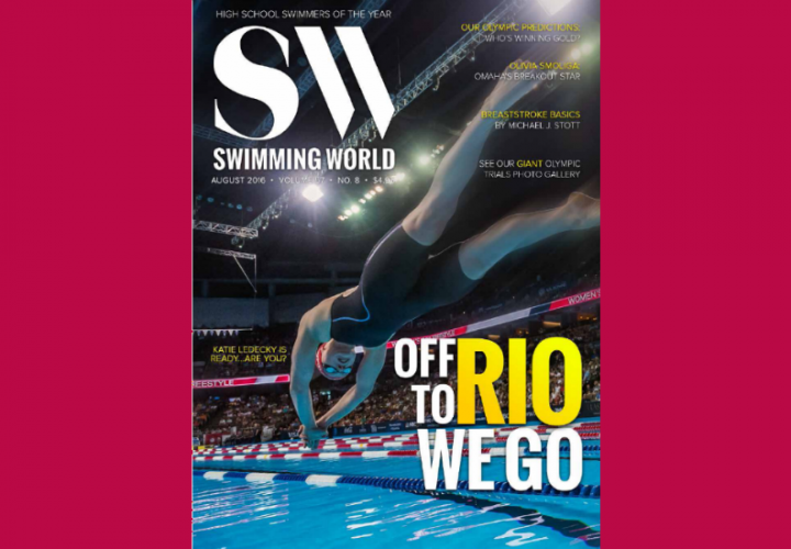 Swimming Worlds Olympic Preview And High School Swimmers Of The Year Issue