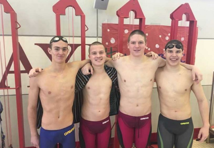 Baylor Crushes Southeastern Swimming Relay Records