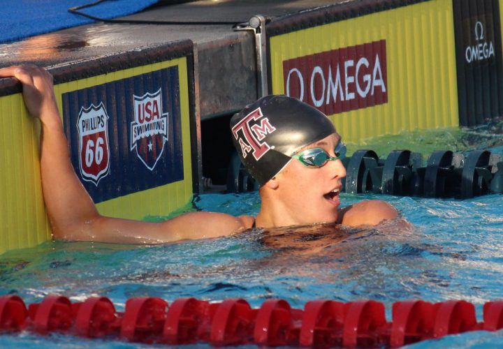 USA Swimming Trials Day 2 Finals Heat Sheets Bethany Galat Scratches 100 Breast Semis