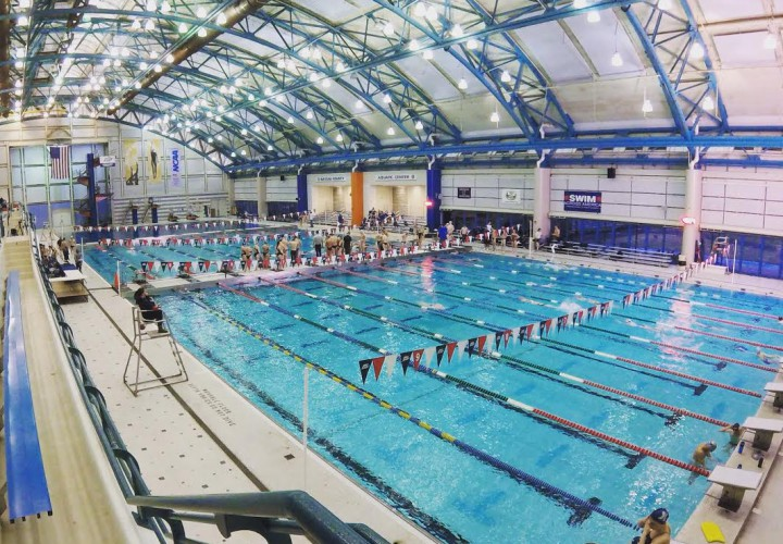 Fast Swims During Prelims of Big East Championships