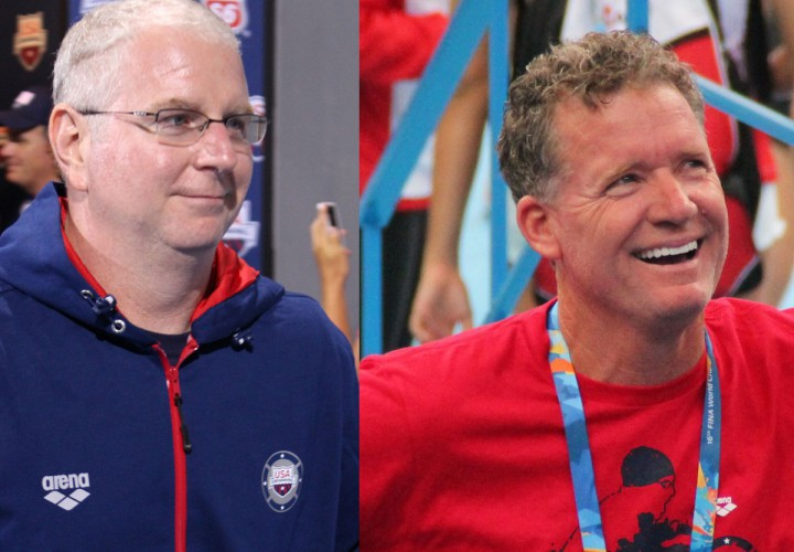 Press Conference Olympic Coaches Busch Bowman and Marsh Speak