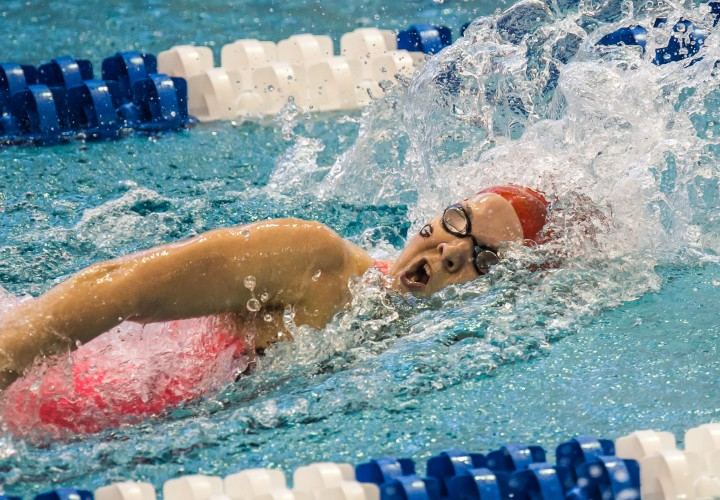VIDEO INTERVIEW Brittany MacLean Recaps Emotional 200 Free Victory