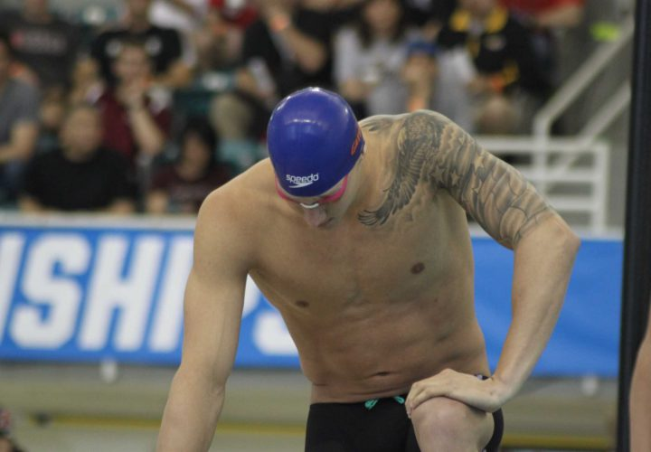 Caeleb Dressel Races to 2209 50 Freestyle in Knoxville