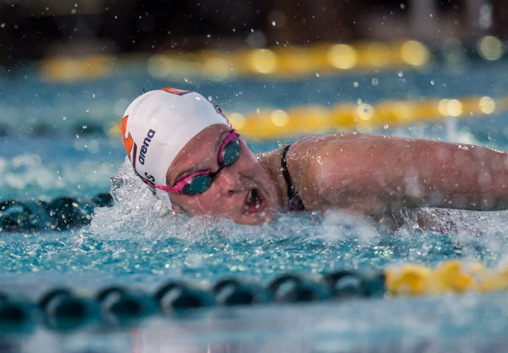 Cammile Adams Claims 200 Fly Crown at 2015 Arena Pro Swim Series Minneapolis