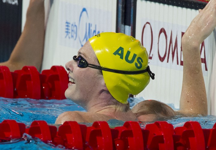 Cate Campbell Drops 2404 50 Freestyle as Six Meet Records Fall at Australia Grand Prix