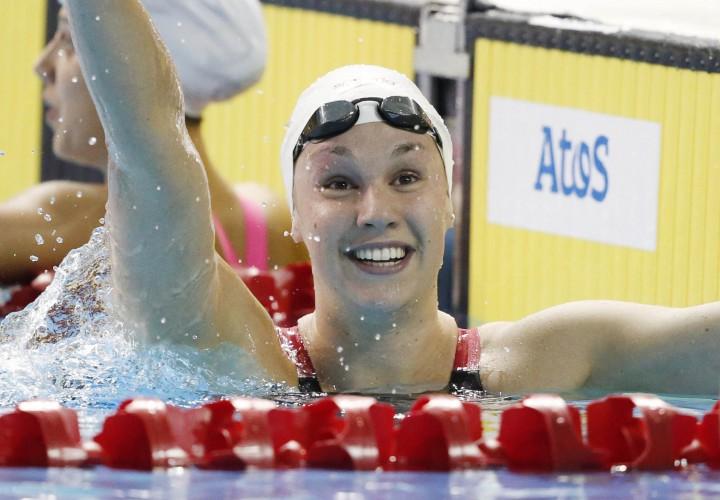 Chantal Van Landeghem Moves To Sixth In World Rankings For 50 Free