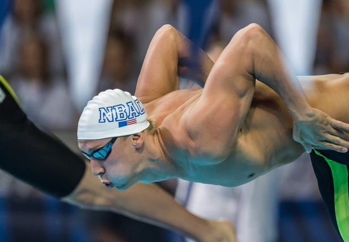Chase Kalisz Scratches 200 IM at Olympic Trials