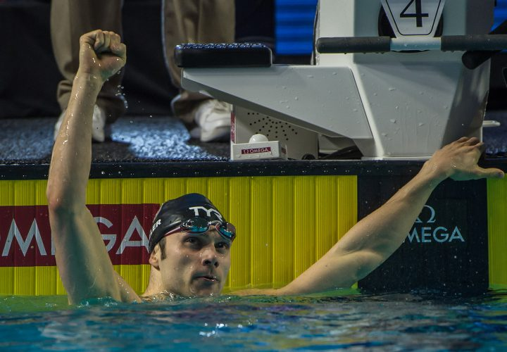 Cody Miller Completes Breaststroke Sweep At Final Day Of 2016 Arena Pro Swim Series Charlotte
