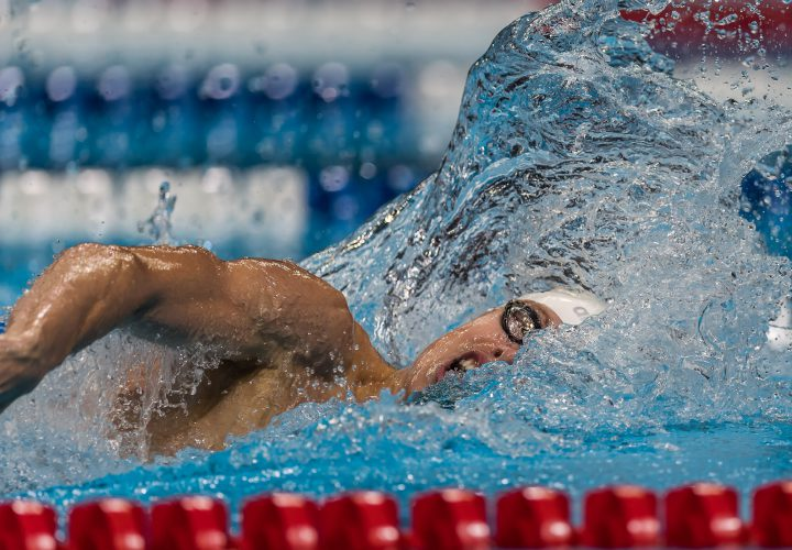 Connor Jaeger Clocks Sub15 Minute 1500 Free For Top Seed