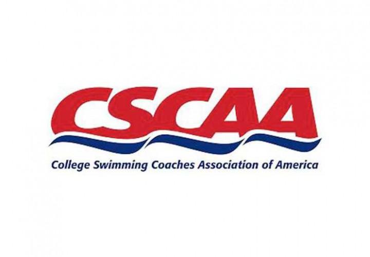 Over 600 Teams Named Spring 2016 CSCAA Scholar AllAmerica