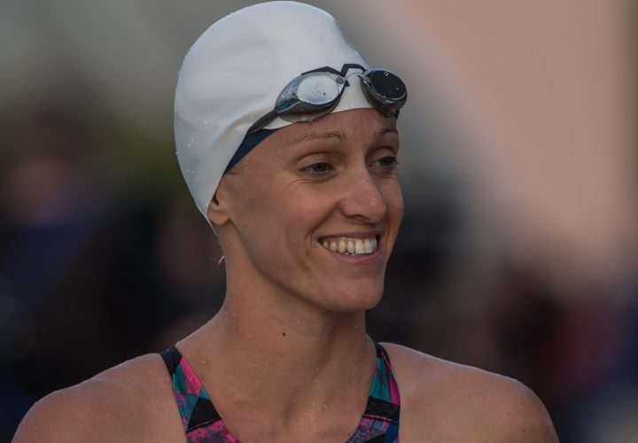 Dana Vollmer Speaks About New Perspective in Her Fifth Olympic Trials