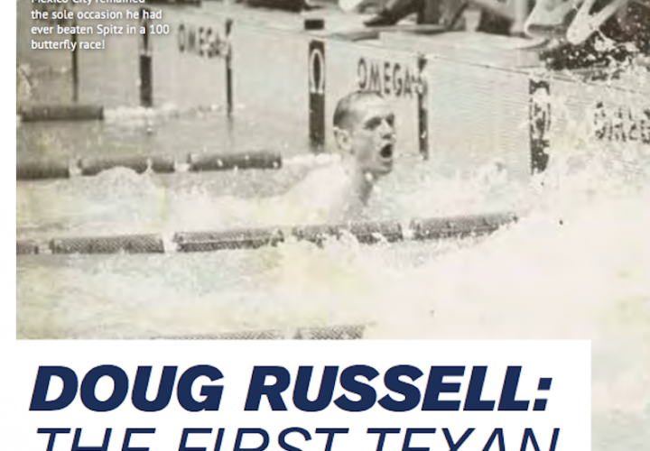 Swimming World Presents The Top 9 Olympic Upsets 5 Doug Russell The First Texan