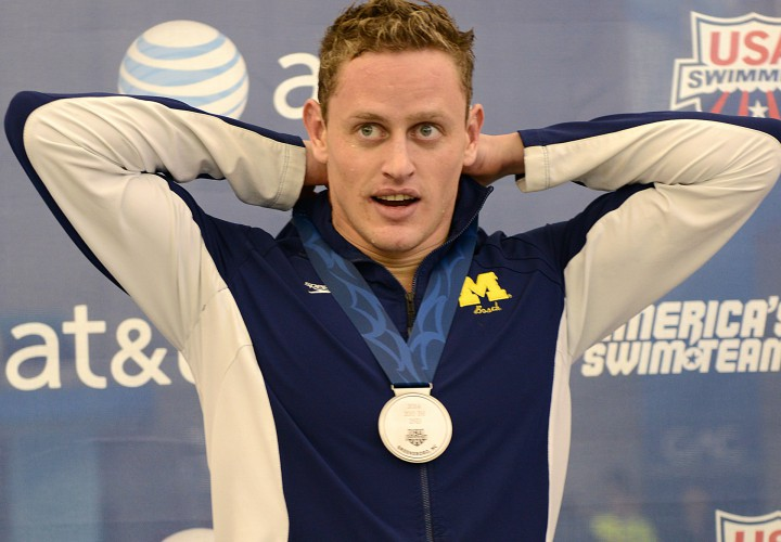 Michigan Sweeps Relays on Night One of Mens Big Tens