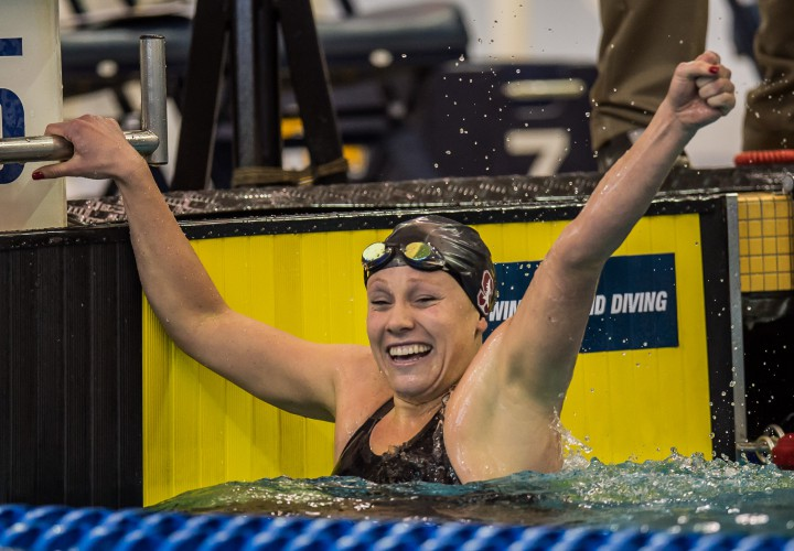 Ella Eastin Rockets To Seventh In World Rankings For 200 IM At 2016 Atlanta Classic