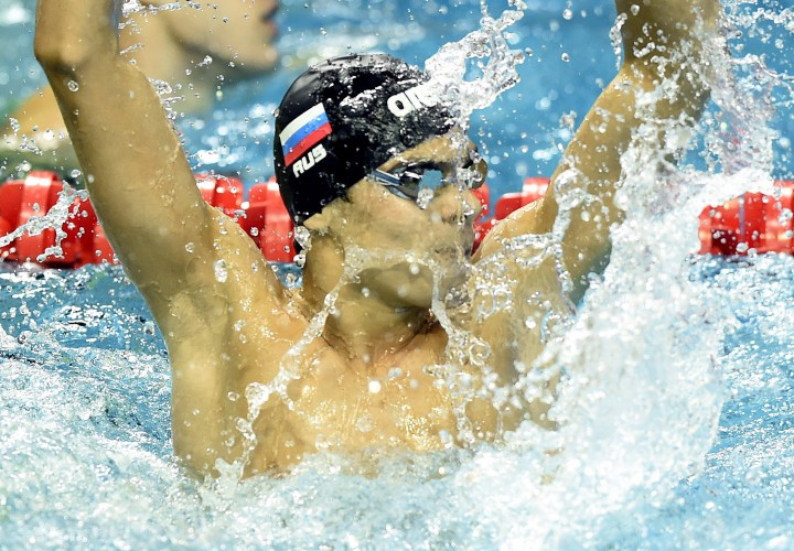 Evgeny Rylov Claims 200 Backstroke Top Seed