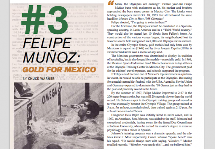 Swimming World Magazine Presents Top 9 Olympic Upsets 3 Felipe Munoz