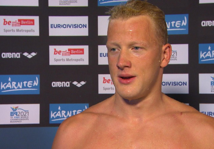 Ferry Weertman Crowned Swimming Worlds Male Open Water Swimmer of the Year